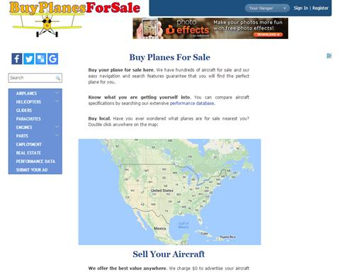 Buy Planes For Sale