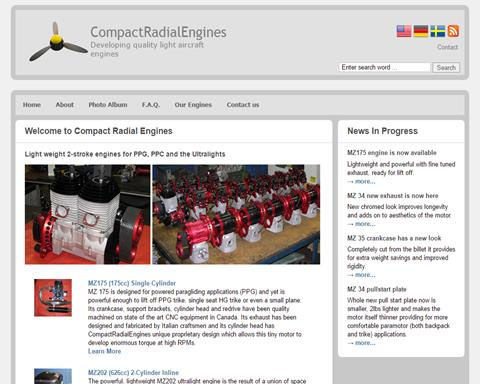 Compact Radial Engines Inc