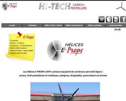 Hélices E-PROPS