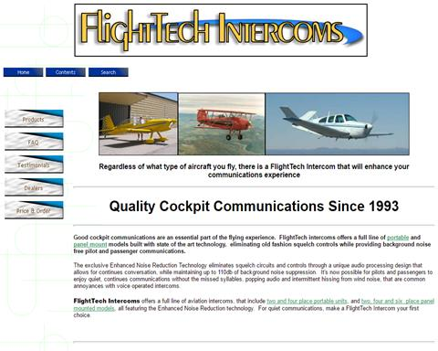 FlightTech Intercoms