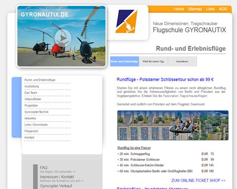 Flightshool GYRONAUTIX Berlin