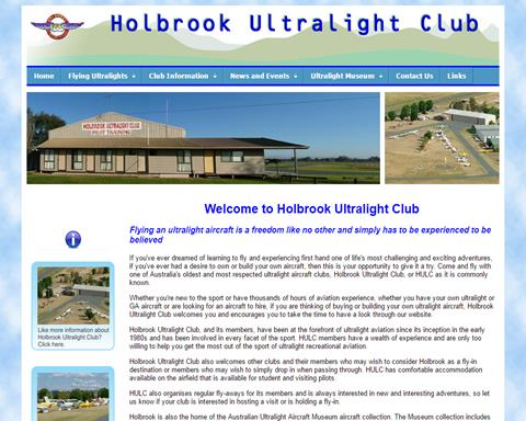 Holbrook Ultralight Club HULC