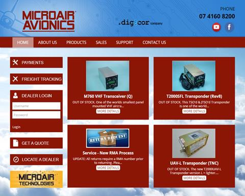 Avionics and Pilot Supplies | Light Aircraft DB & Sales