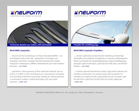Neuform Propellers