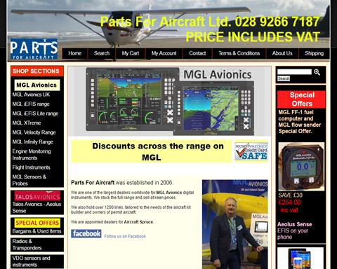 Parts For Aircraft   Light Aircraft DB & Sales