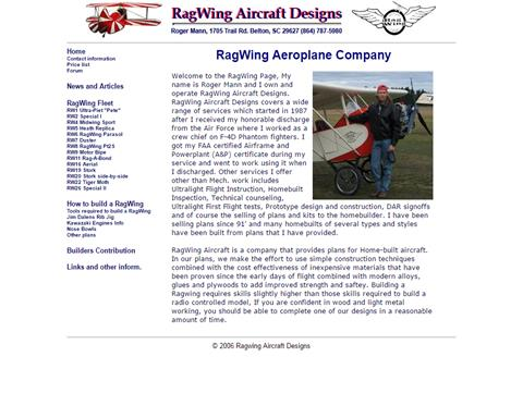 RagWing Aircraft Designs