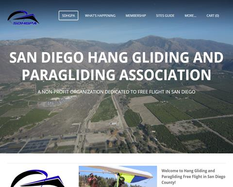 San Diego Hang Gliding and Paragliding Association