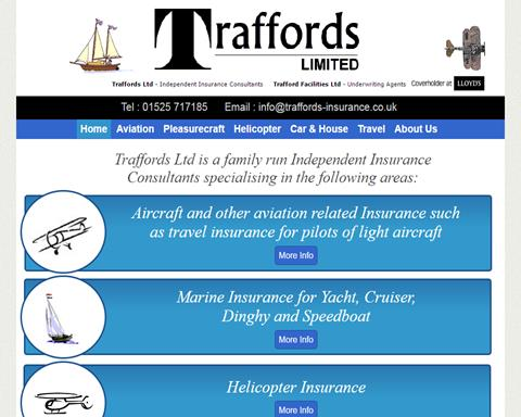 Traffords Aviation Insurance