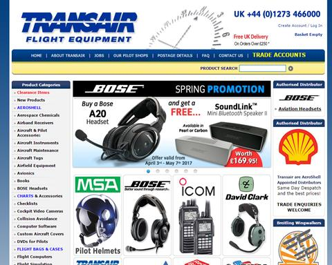 Transair Pilot Shop