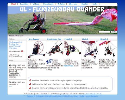 UL - Flugzeugbau Quander