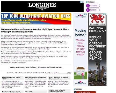 Top 1000 Ultralight aviation links
