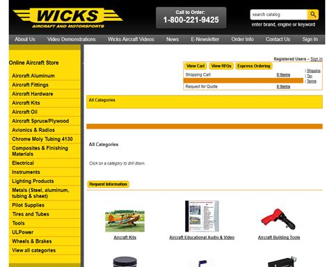 Wicks Aircraft and Motorsports