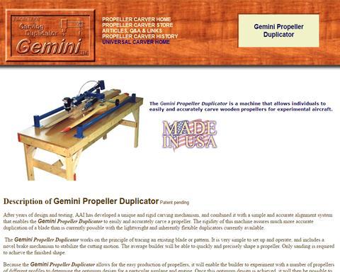 Gemini Propeller Duplicator
